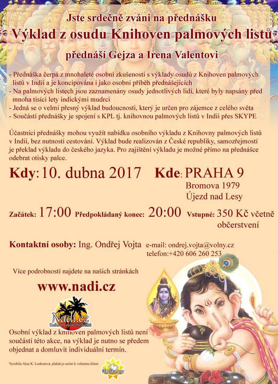 Přednáška Praha 10.4.2017 - PRAHA